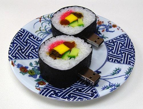 Прикольные вещи из суши