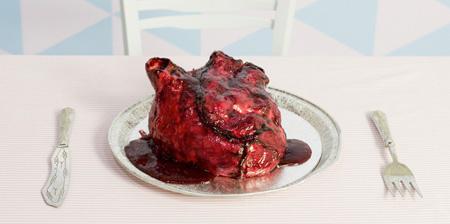 Торт-сердце ко дню Св. Валентина
