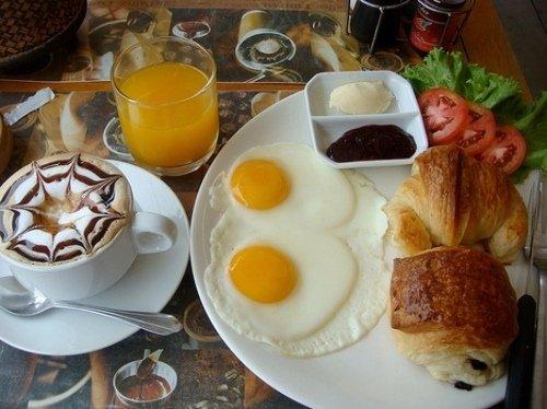Завтрак для двоих