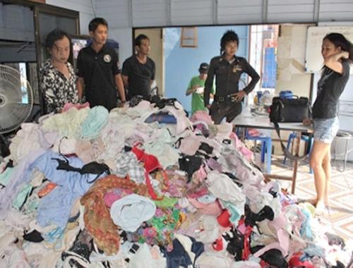 Тайландец украл 10000 пар нижнего белья