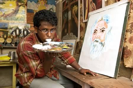 Странные художники и их творения