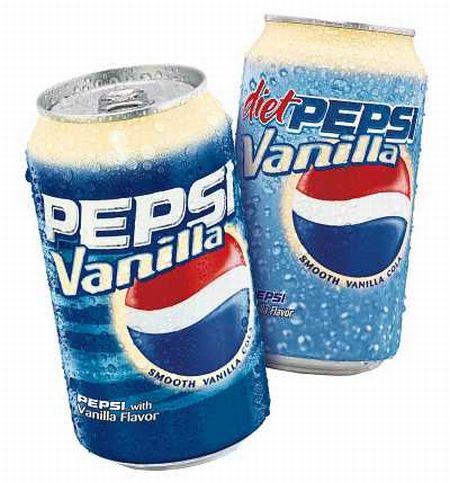 15 разных вкусов Pepsi