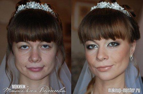 До и после макияжа (20 фото)