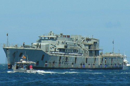 Как затопили фрегат HMNZS Wellington