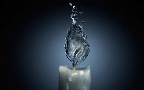 Красивые инсталляции из воды