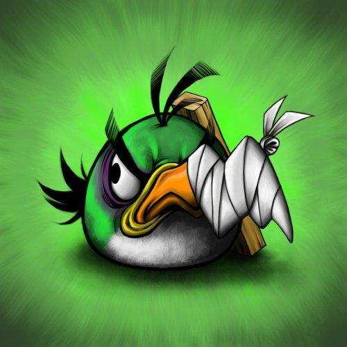 Побитые птички из Angry Birds