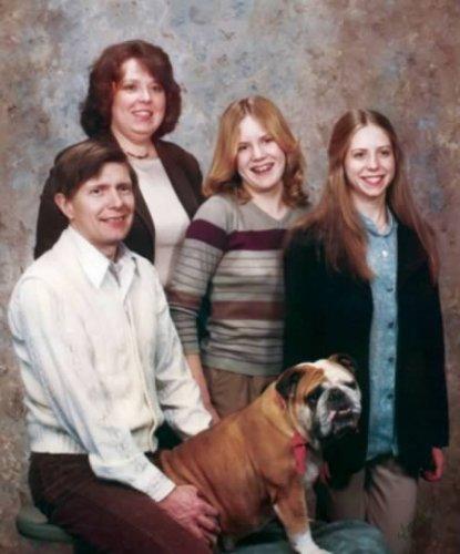 Смешные семейные фото с животными