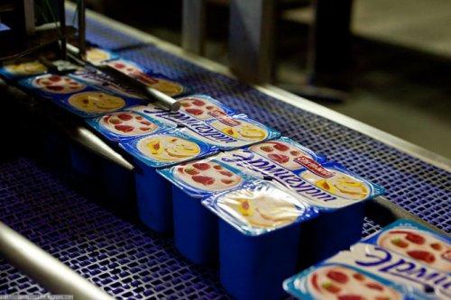 Как делают йогурты