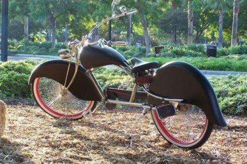 Уникальные модели велосипедов