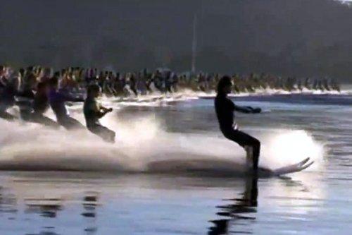145 водных лыжников установили рекорд