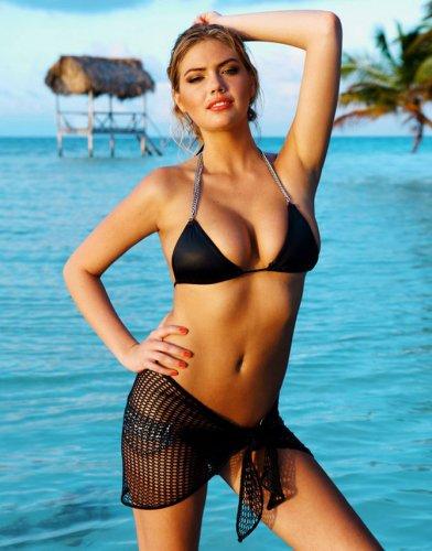 Кейт Аптон в рекламе купальников Beach Bunny 2012