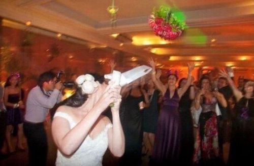 Злодей и свадебный букет невесты