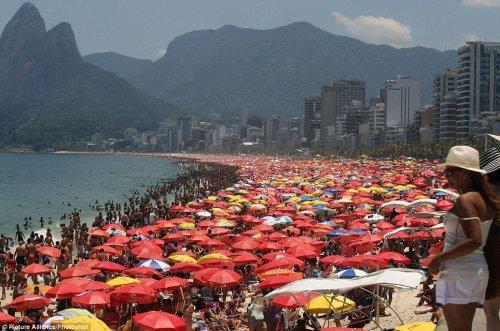 Жара в Рио-де-Жанейро