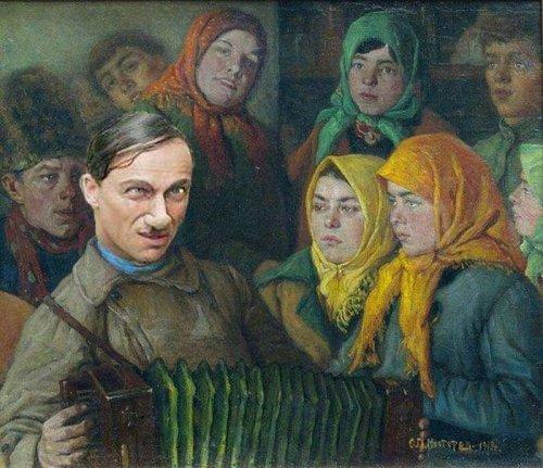 Произведения искусства на современный лад