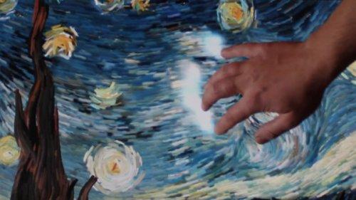 Интерактивная интерпретация картины Ван Гога