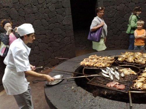 El Diablo - ресторан на вулкане