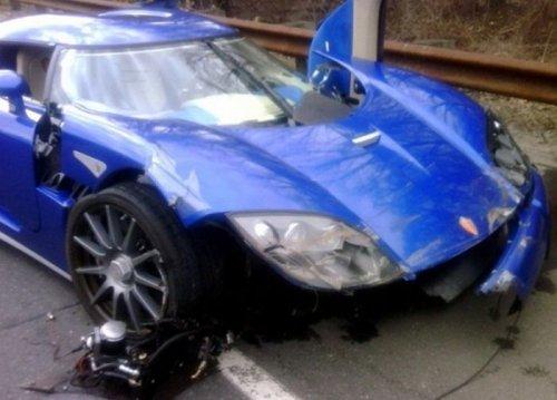 Фото шикарных разбитых авто