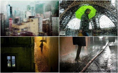 Париж под дождем от Кристофа Жакро