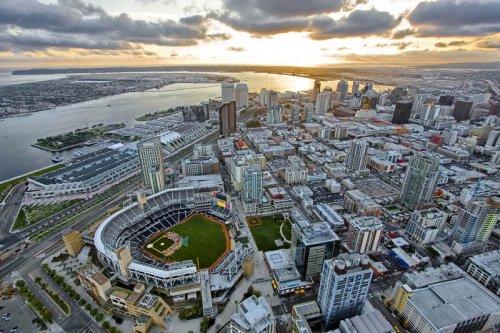 25 крупнейших стадионов – вид сверху