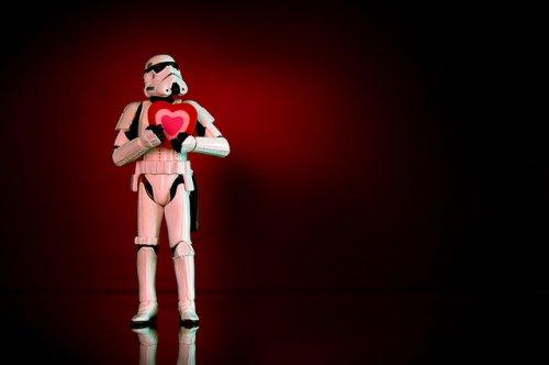 Валентинка в стиле STAR WARS