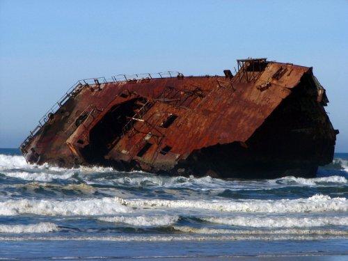 Живописные последствия кораблекрушений