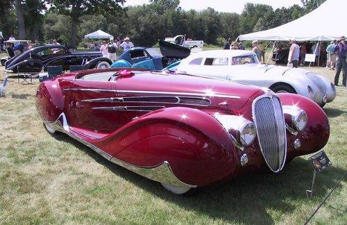 Автомобили в стиле арт-деко