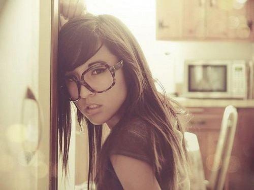 Фото девушек в очках
