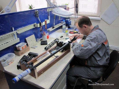 Как делают снайперские винтовки