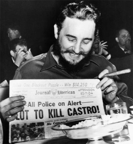 Десять самых отчаянных попыток убить Фиделя Кастро