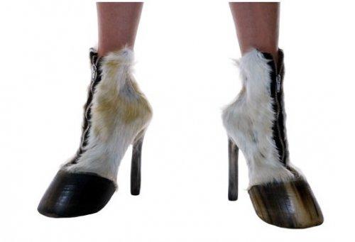 """""""Натуральная"""" обувь из частей животных"""