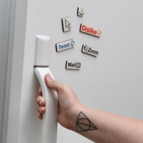 Прикольные магниты на холодильник