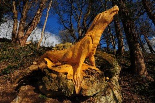 Лесные скульптуры