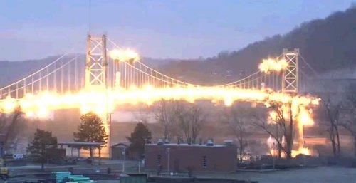 Уничтожение старого моста