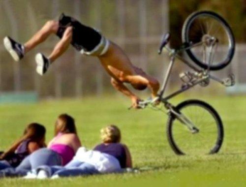 Неудачи велосипедистов