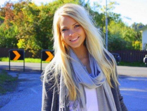 Самая красивая блоггерша Норвегии
