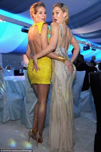 Сексуальные знаменитости на вручении Оскара