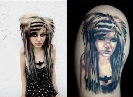 Самые кошмарные татуировки