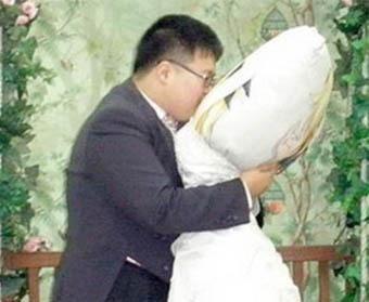 Люди, которые вступили в брак с неодушевленными предметами