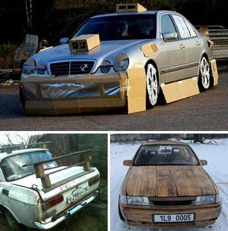 Прикольные модификации автомобилей своими руками