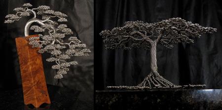 Деревья из проволоки