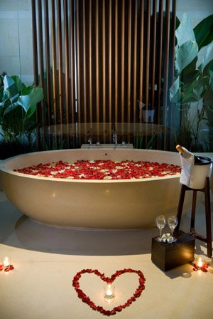 Романтичная ванна