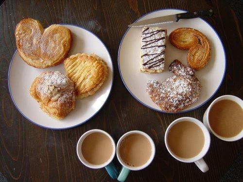 Аппетитный завтрак в картинках