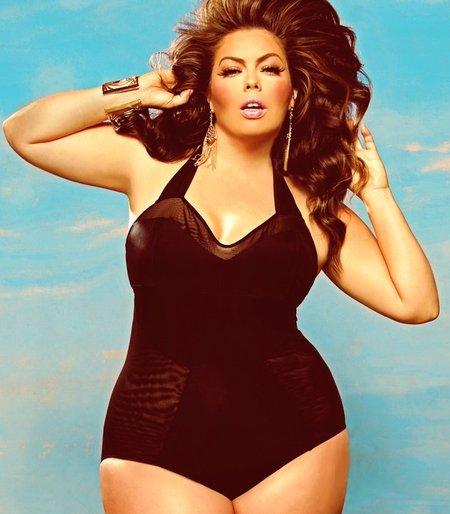 самая красивая толстушка фото