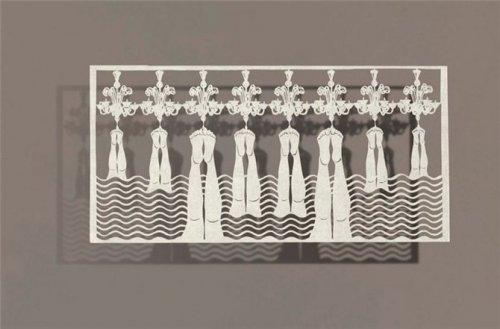 Картины из листа бумаги (продолжение)