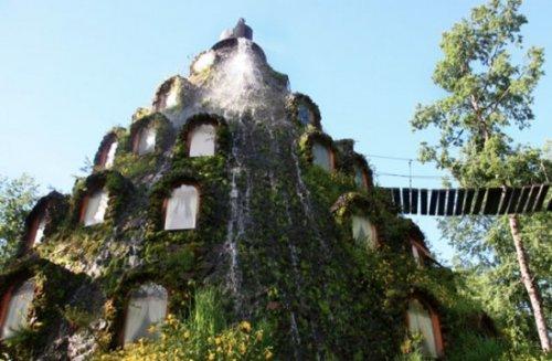 Отель-вулкан в Чили
