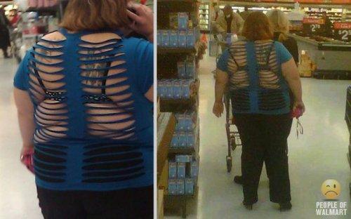 Странные люди из супермаркетов (27 фото)