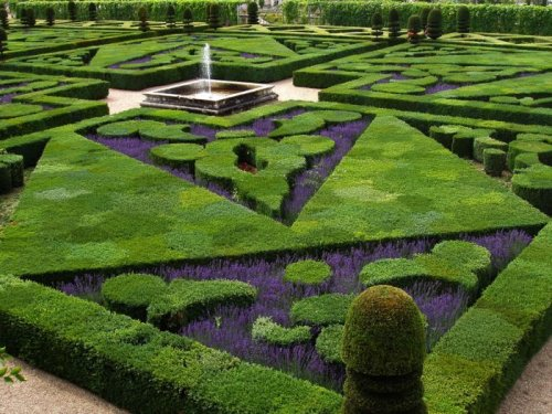 Романтические сады Франции