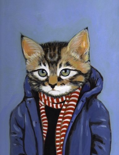 Котята в одежде