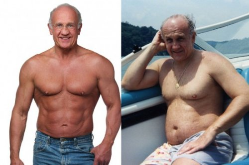 70-летний бодибилдер