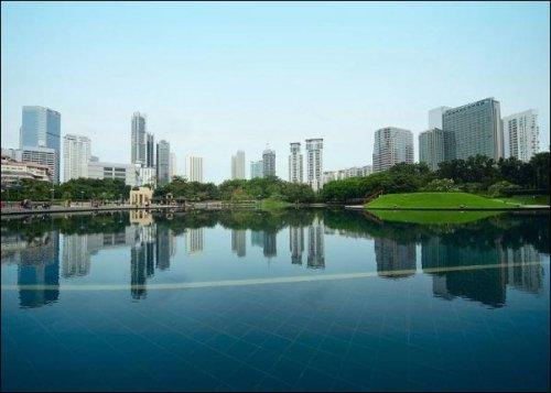 Города и их отражения